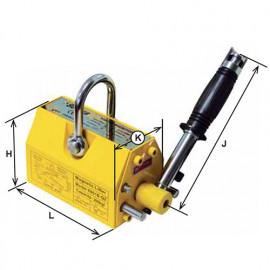 Porteur magnétique à commande manuelle - 1 000 Kg