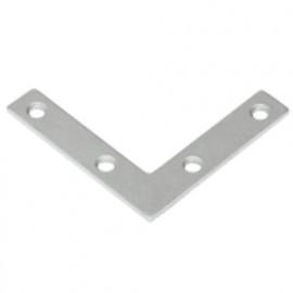 Ferrure en L galvanisé - 50 x 50 x 10 x 2,0 mm