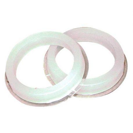 2 bagues de réduction D. 20 à 17 mm pour meule touret - 10504006