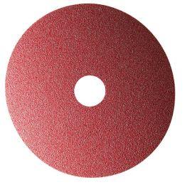 25 disques fibre corindon - D.180 x 22,23 mm A 24 Sidadisc - Acier - 10701045