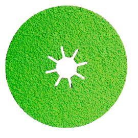 25 disques fibre céramique - D.125 x 22,23 mm Cr 80 Sidadisc - Acier/Inox - 10703015 - Sidamo
