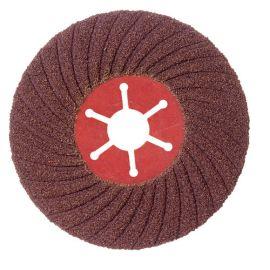 5 disques semi-rigide corindon - D.180 Gr 36 A Sidaflex - Acier - 10801010