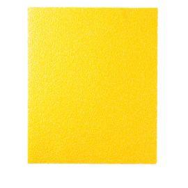 50 feuilles à main papier corindon jaune 230 x 280 mm Gr 120 - 10902137