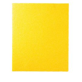 50 feuilles à main papier corindon jaune 230 x 280 mm Gr 150 - 10902138