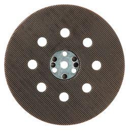 Plateau support auto-agrippant pour disques perforés D.125 mm pour ponceuse - 10998031
