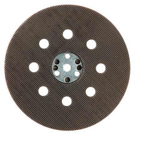 Plateau support auto-agrippant pour disques perforés D.125 mm pour ponceuse - 10998031 - Sidamo