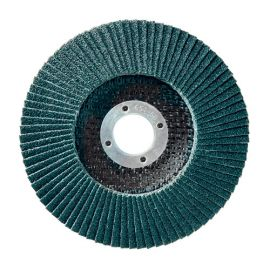 10 disques à lamelles zirconium D.115 x 22,23 mm Gr 120 Z Convexe Lamdisc support fibre - 11001017