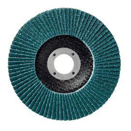 10 disques à lamelles zirconium D.125 x 22,23 mm Gr 60 Z Plat Lamdisc support fibre - 11001043 - Sidamo