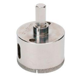 Trépan diamant à eau D.55 x 35 mm sur tige - Céramique/Grès/Granit - 11101411