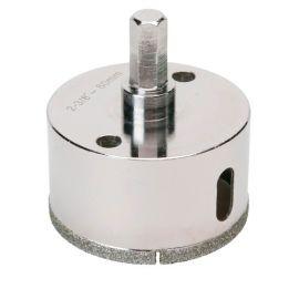 Trépan diamant à eau D.60 x 35 mm sur tige - Céramique/Grès/Granit - 11101412