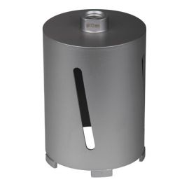 Couronne diamantée à sec D.112 x 150 mm - Raccord M20 - Béton/Béton cellulaire/Brique - 11101504