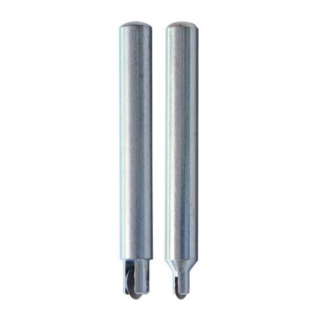 2 molettes carbure sur tige D.10 mm pour coupe carreaux CM - 11200202
