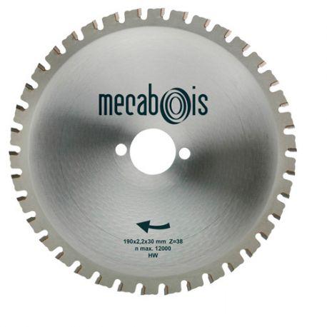 Lame carbure MAXIMETAUX D. 200 x 2,2 x 30 mm Z 40 dents plates - Aciers/Profilés/Panneaux sandwich - 280266