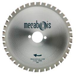 Lame carbure MAXIMETAUX D. 210 x 2,2 x 30 mm Z 40 dents plates - Aciers/Profilés/Panneaux sandwich - 280268