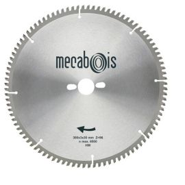 Lame carbure NE3 D. 400 x 3,4 x 30 mm Z 120 TP Nég. - Alu/Zinc/Cuivre/Nickel/Plastique - 290200