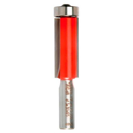 Mèche à affleurer droite Q. 8 x D. 13 x Lt. 50 mm + Guide à billes - 612075