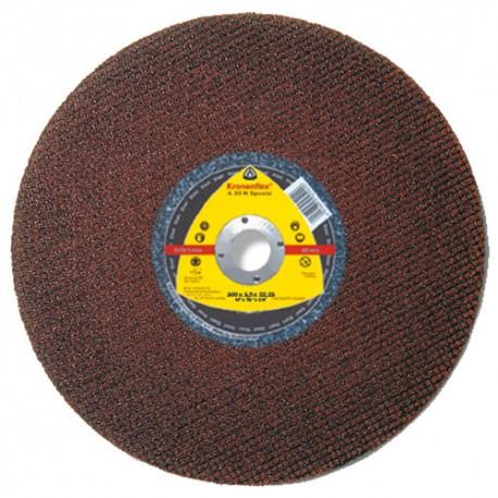 10 disques à tronçonner MP SPECIAL A 30 N D. 300 x 2,5 x 25,4 mm - Acier - 119627 - Klingspor