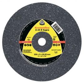 25 disques à tronçonner MP SUPRA A 24 R D. 125 x 2,5 x 22,23 mm - Acier - 13295 - Klingspor