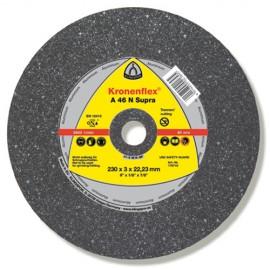 25 disques à tronçonner MD SUPRA A 46 N D. 115 x 2,5 x 22,23 mm - Aluminium - 170707 - Klingspor