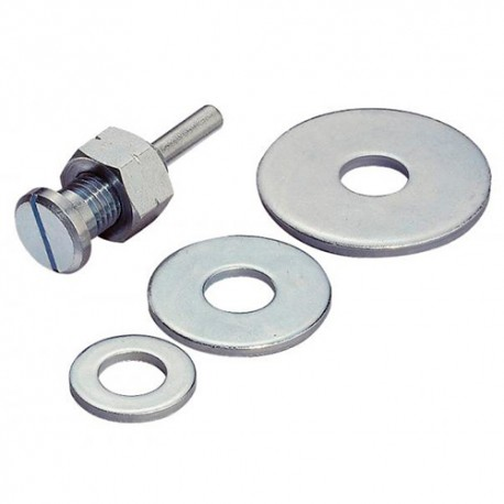 Tige de montage Q. 6 mm pour disque Texture SD 2000 - 194629 - Klingspor