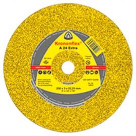 25 disques à tronçonner MD EXTRA A 24 EX D. 115 x 3,2 x 22,23 mm - Métal - 209014 - Klingspor