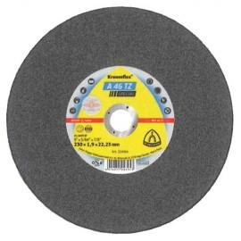 25 disques à tronçonner MP SPECIAL A 46 TZ D. 180 x 1,6 x 22,23 mm - Acier inoxydable - 221161 - Klingspor