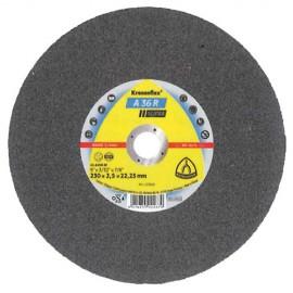 25 disques à tronçonner MP SUPRA A 36 R D. 150 x 2 x 22,23 mm - Acier inoxydable - 251752 - Klingspor