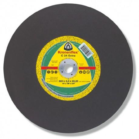 10 disques à tronçonner MP EXTRA C 24 D. 300 x 3,5 x 20 mm - Pierre / Béton - 288223 - Klingspor