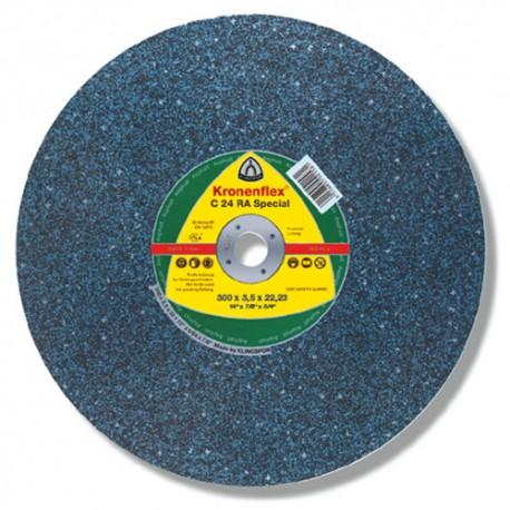 10 disques à tronçonner MP SPECIAL C 24 RA D. 300 x 3,5 x 20 mm - Asphalte - 288251 - Klingspor