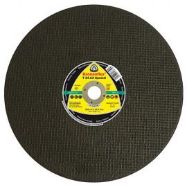 10 disques à tronçonner MP SPECIAL T24 AX D. 300 x 3,5 x 22,23 mm - Acier / Rail - 314012 - Klingspor