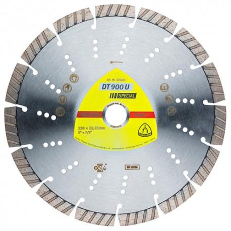 Disque diamant SPECIAL DT 900 U D. 180 x 2,6 x Ht. 12 x 22,23 mm - Béton armé / Béton / Matériaux / Pierre - 325028 - Klingspor