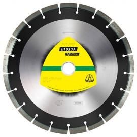 Disque diamant SPECIAL DT 910 A D. 300 x 2,8 x Ht. 12 x 25,4 mm - Asphalte / Béton frais / Chape / Grès - 325077 - Klingspor