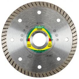 Disque diamant SPECIAL DT 900 FT D. 115 x 1,4 x Ht. 7 x 22,23 mm - Grès cérame / Faïence / Granit - 325392 - Klingspor