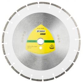 Disque diamant EXTRA DT 300 U D. 300 x 2,8 x Ht. 7 x 20 mm - Matériaux - 326831 - Klingspor
