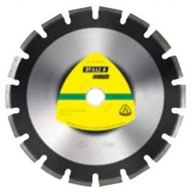Disque diamant SUPRA DT 612 A D. 300 x 2,8 x Ht. 10 x 25,4 mm - Asphalte / Grès - 330075 - Klingspor
