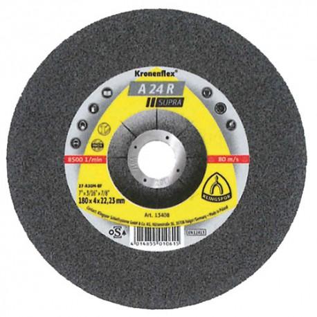 10 meules/disques à ébarber MD SUPRA A 24 R D. 100 x 6 x 16 mm - Acier - 6578 - Klingspor