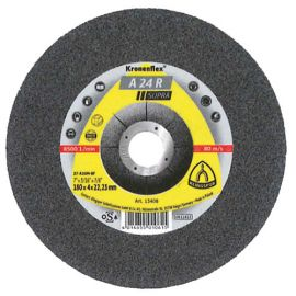 10 meules/disques à ébarber MD SUPRA A 24 R D. 180 x 8 x 22,23 mm - Acier - 13418