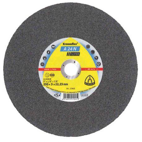 25 disques à tronçonner MD SUPRA A 24 N D. 230 x 3 x 22,23 mm - Acier inoxydable - 13477