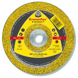 10 meules/disques à ébarber MD EXTRA A 24 T D. 180 x 6 x 22,23 mm - Métal - 13794