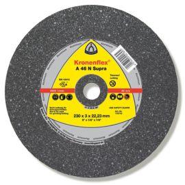 25 disques à tronçonner MD SUPRA A 46 N D. 125 x 2,5 x 22,23 mm - Aluminium - 170708 - Klingspor