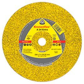 25 disques à tronçonner MP EXTRA A 24 EX D. 115 x 2,5 x 22,23 mm - Métal - 242137 - Klingspor