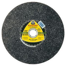 10 disques à tronçonner MP SUPRA A 24 R D. 300 x 3,5 x 20 mm - Acier - 288245 - Klingspor