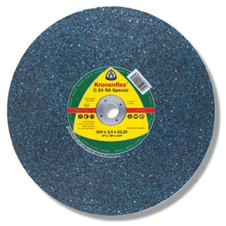 10 disques à tronçonner MP SPECIAL C 24 RA D. 350 x 4 x 25,4 mm - Asphalte - 288253