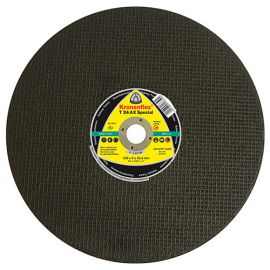 10 disques à tronçonner MP SPECIAL T24 AX D. 350 x 4 x 25,4 mm - Acier / Rail - 314014 - Klingspor