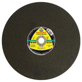 10 disques à tronçonner MP SPECIAL T24 AX D. 400 x 4 x 25,4 mm - Acier / Rail - 314035 - Klingspor