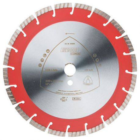Disque diamant SPECIAL DT 900 B D. 400 x Ht. 12 x 3,2 x 25,4 mm - Béton armé / Béton / Matériaux - 325114