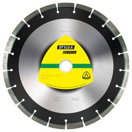 Disque diamant SPECIAL DT 910 A D. 400 x 3,4 x Ht. 12 x 25,4 mm - Asphalte / Béton frais / Chape / Grès - 325147