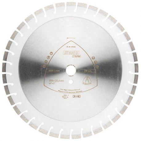 Disque diamant SUPRA DT 600 U D. 450 x 3,6 x Ht. 10 x 25,4 mm - Béton armé / Béton / Matériaux - 325201
