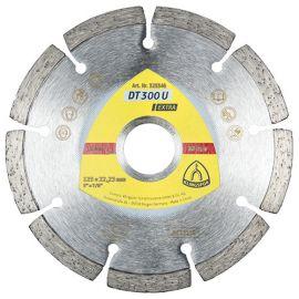Disque diamant EXTRA DT 300 U D. 125 x 1,6 x Ht. 7 x 22,23 mm - Béton / Matériaux - 325346