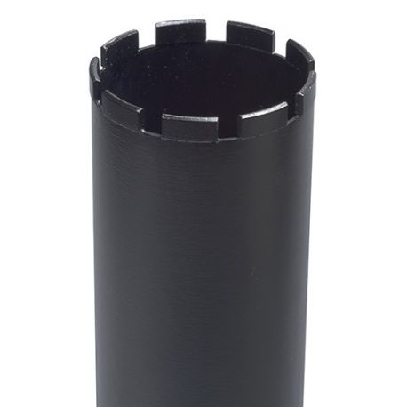 """Couronne diamantée 1 1/4"""" UNC SUPRA DK 654 B D. 182 x 4 x Ht.11 x 24 x Lu. 450 mm - Béton - 325786"""